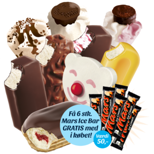 Gigantpakken med Mars Ice Cream